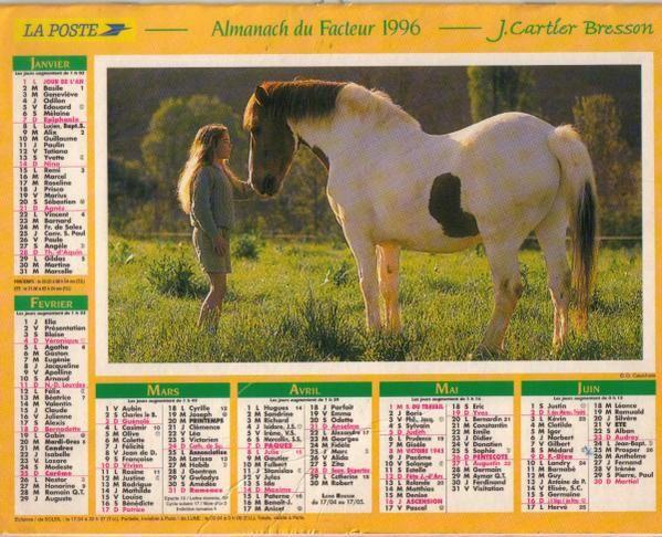 Album - Calendriers-de-la-Poste