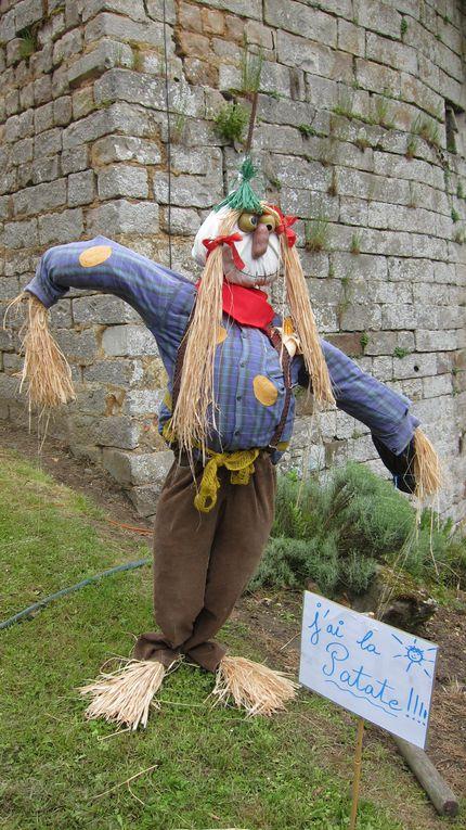 "En la citadelle de Doullens, la fête annuelle, fin mai 2013, des plantes avec pour thème ""les solanacées"""