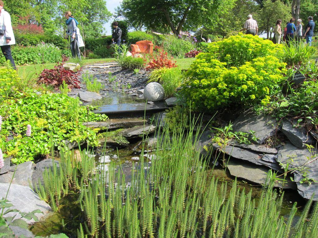 Jardin paysager à Onicourt, en baie de Somme élaboré par Valérie  Thermy