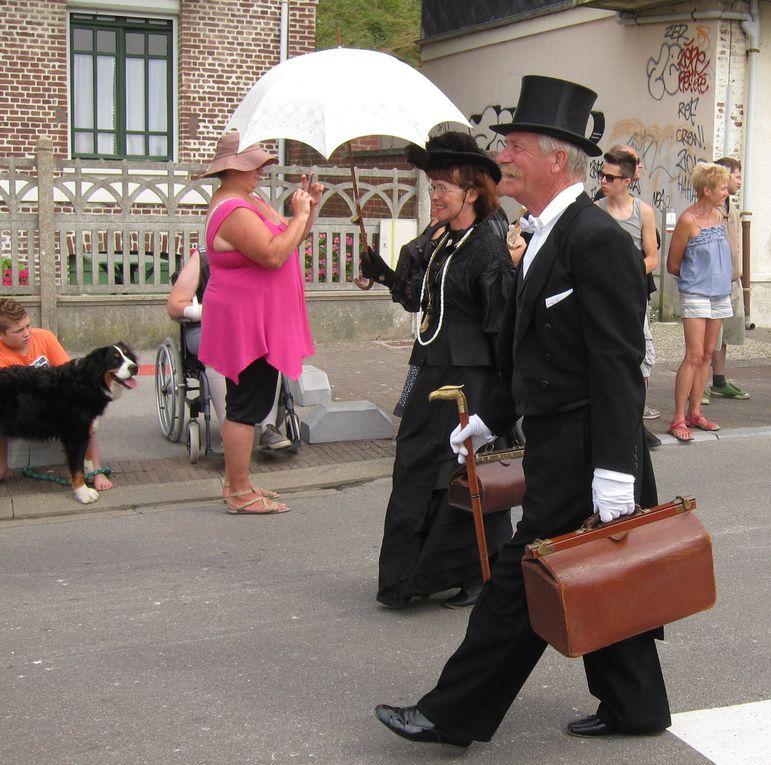 Retour aux années folles à travers le tourisme balnéaire dans la ville côtière picardo-normande de Mers les Bains