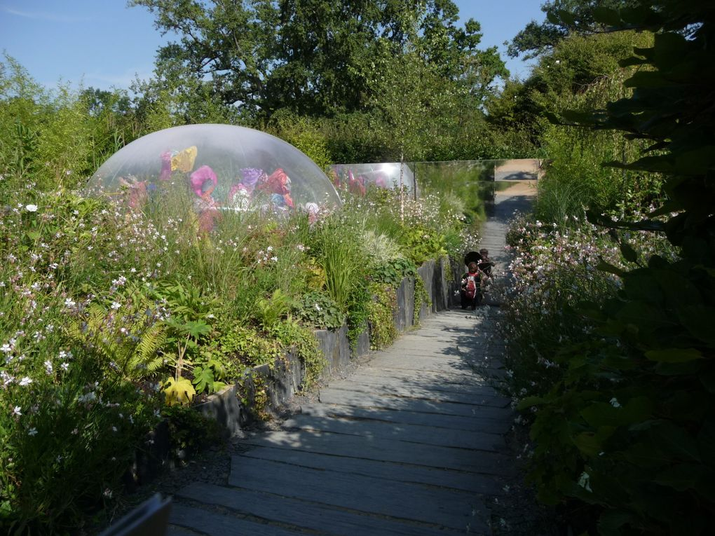 """Festival International des Jardins à Chaumont sur Loire ..dont le thème est """" la biodiversité en questions"""""""