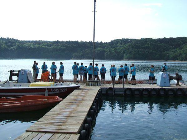 Sur le lac de Vouglans, les meilleurs clubs français de Dragon Boat vont s'affronter pour préparer les championnats du Monde des 8,9 et 10 juin 2007 à Gérardmer.