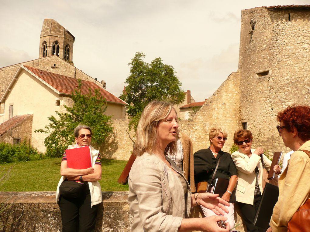 animation de la messe, visite et concert en l'église St Jean Baptiste le 24 juin 2012.