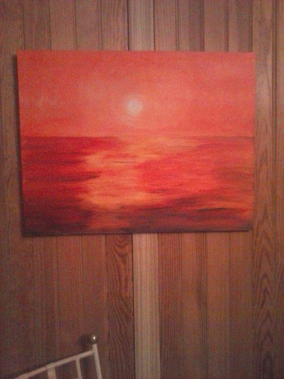mes peintures-mes créations artistiques
