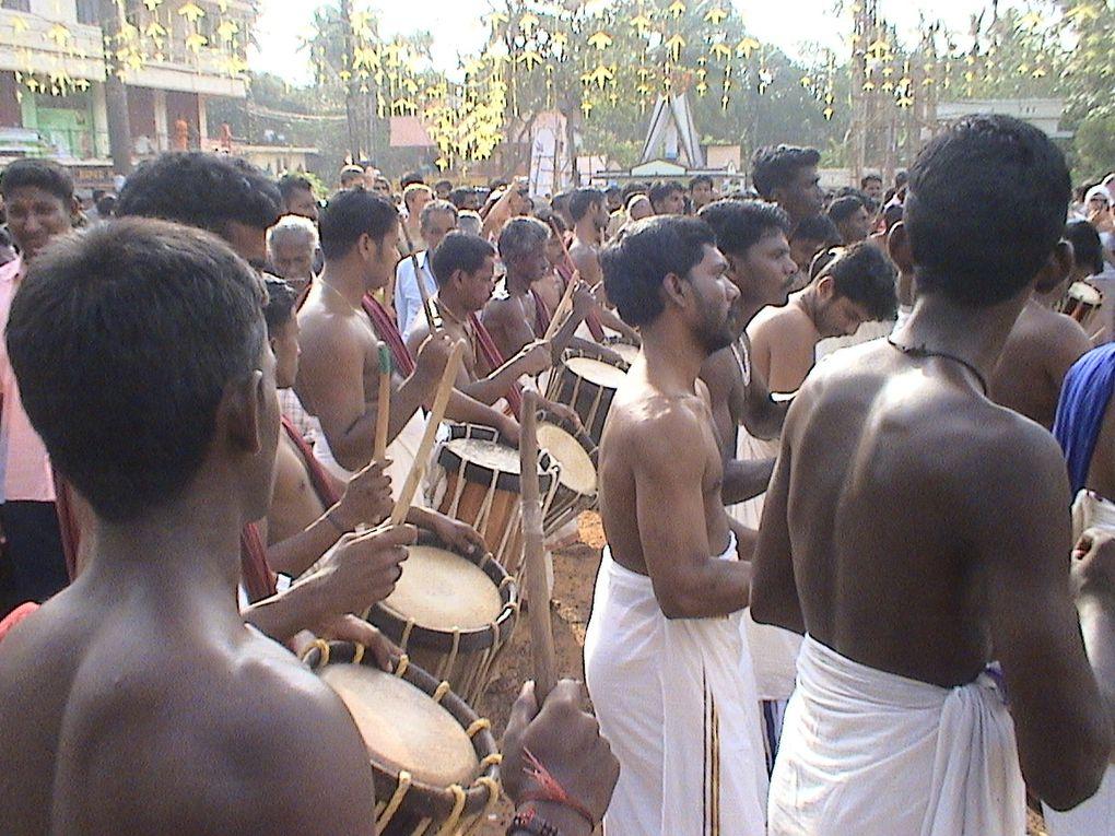 Festival annuel en hommage au dieu Ganesh.