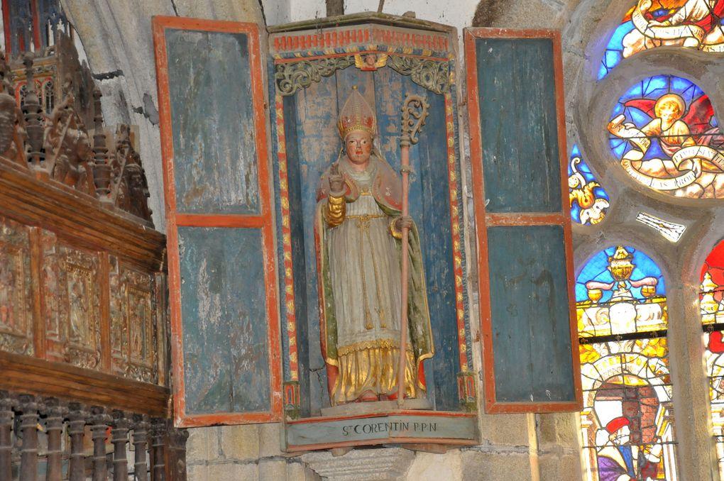 La chapelle de Saint-Herbot à Plonévez-du-Faou (Finistère)