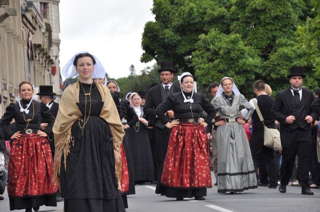 Défilé de Cornouaille 2012, première partie