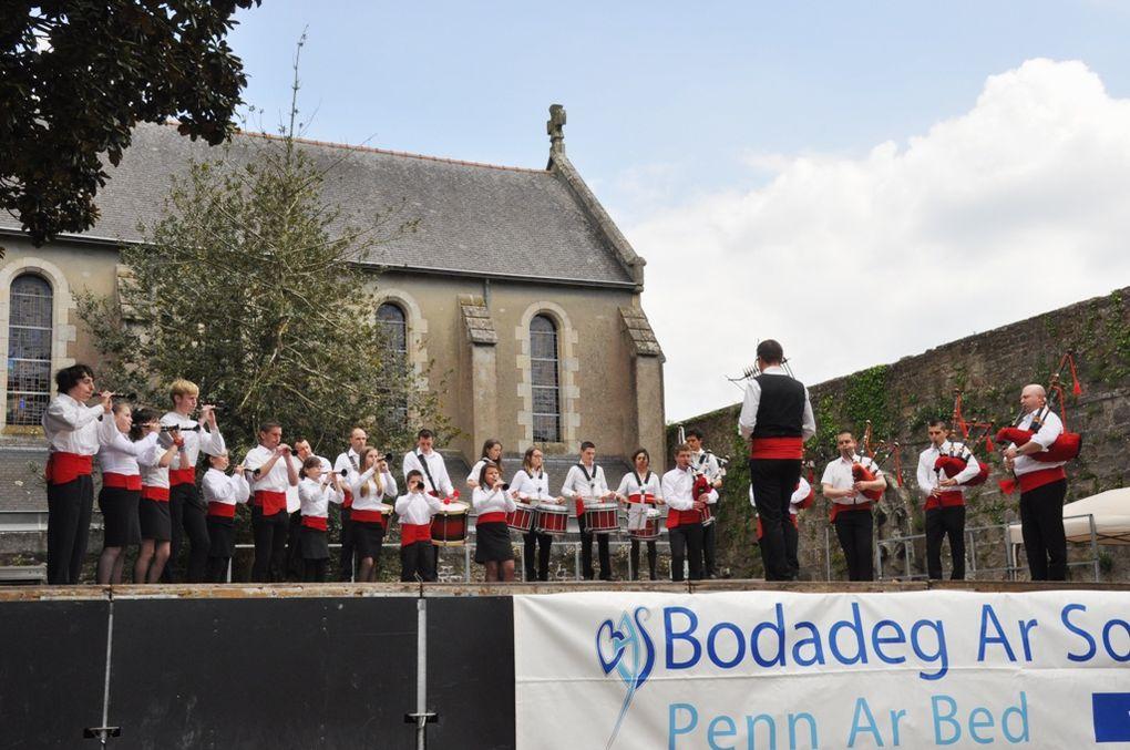 Concours départemental des bagadoù de 5ème catégorie du Finistère. Quimper 2013