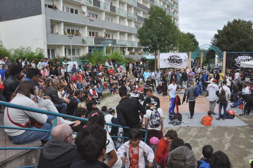 48 photos du Block Party organisé par la Hip hop New school de Quimper le 30 août 2014