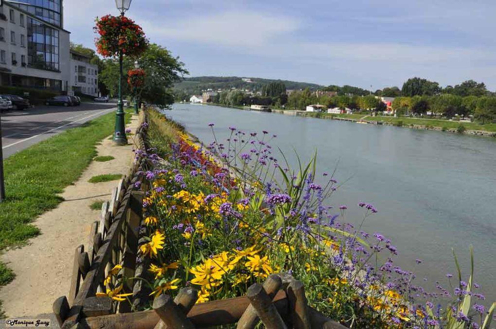 Les bords de la Marne et autres endroits caractéristiques de la ville. Mise en valeur du chef-lieu du Pays du Sud de l'Aisne.