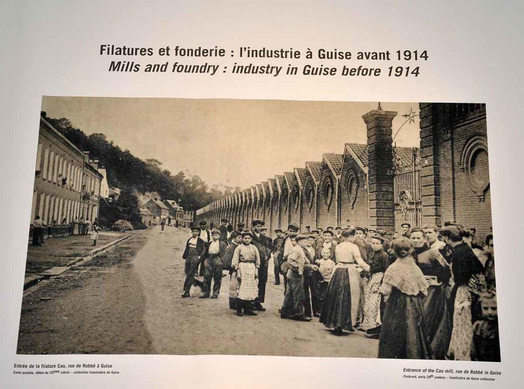 Lors de ma visite le 25 septembre 2010 avec les membres du Cercle généalogique de l'Aisne.