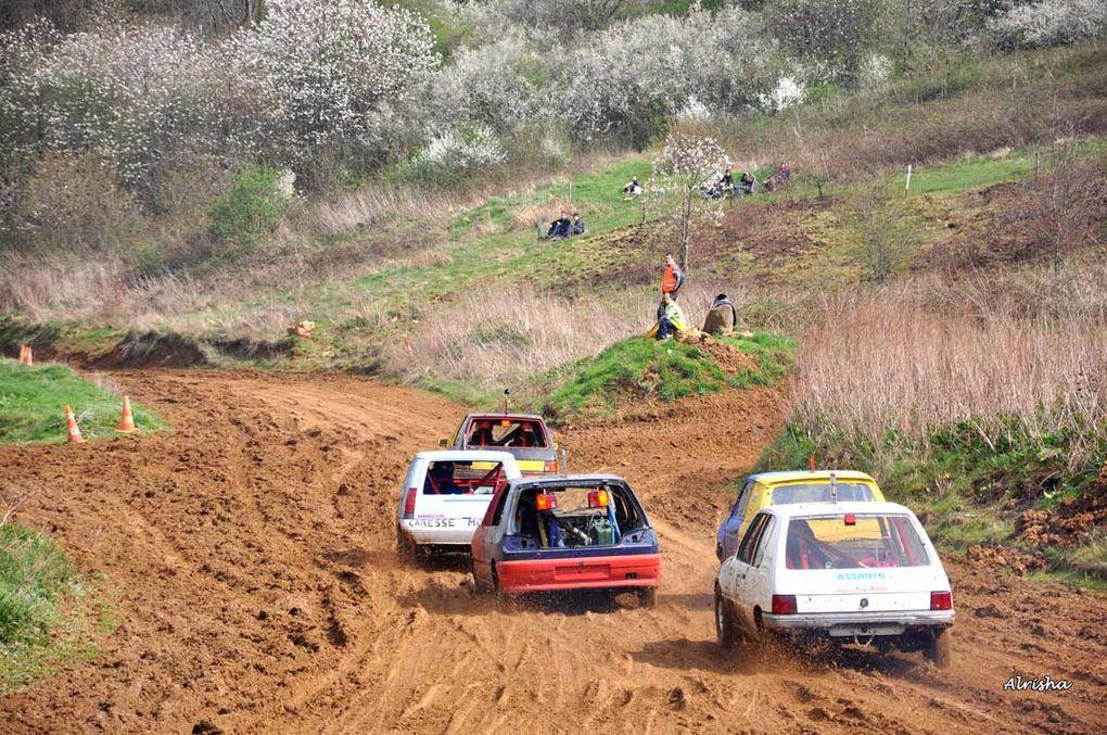Courses suivies pendant l'après-midi de Pâques le 12 avril 2009.