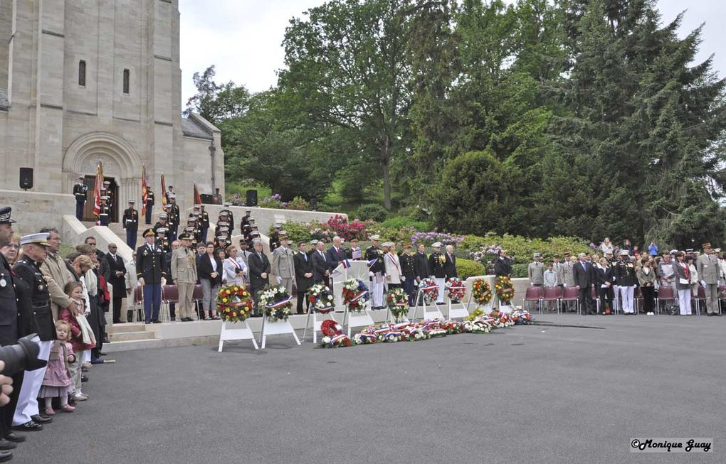 Le 30 mai 2010 au cimetière américain Aisne-Marne de belleau (02)