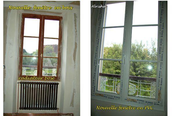 """Commencé surtout depuis 2004, des vues des différents travaux effectués à l'extérieur comme à l'intérieur.Futur gîte rural """"gîte de France"""" à 3 épis, 6 personnes et plus."""