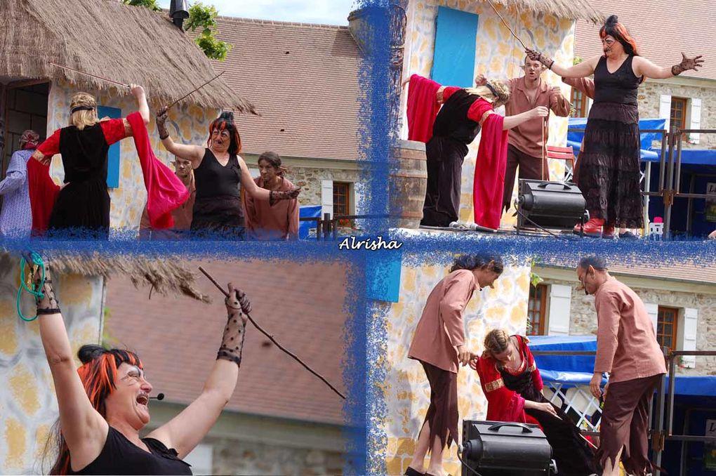 """A la Pentecôte 2009 lors du spectacle TALISMAN """"Le Légende des trois pèlerins"""""""
