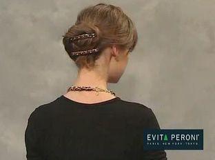 Coiffures originales, idées coiffures, accessoires pour cheveux, evita peroni donnent des idées.