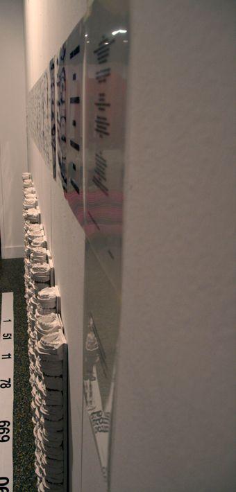 """Installation pour l'exposition """"Zeste contemporain""""Aix en provence"""