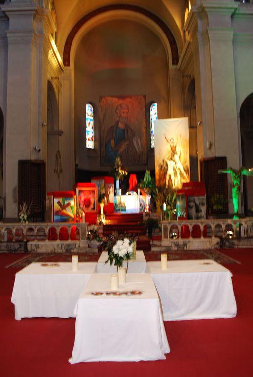 Office de la Sainte Cène et reposoir - Eglise St Pierre d'Arène 2012