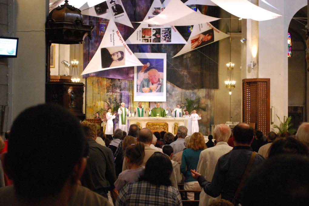 Kermesse avec la messe de rentrée du catéchisme et la Bénédiction des animaux - dimanche 9 octobre 2011