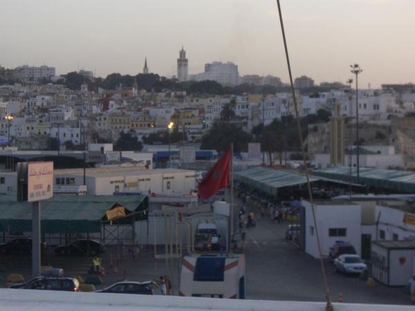 Mon voyage à Tanger