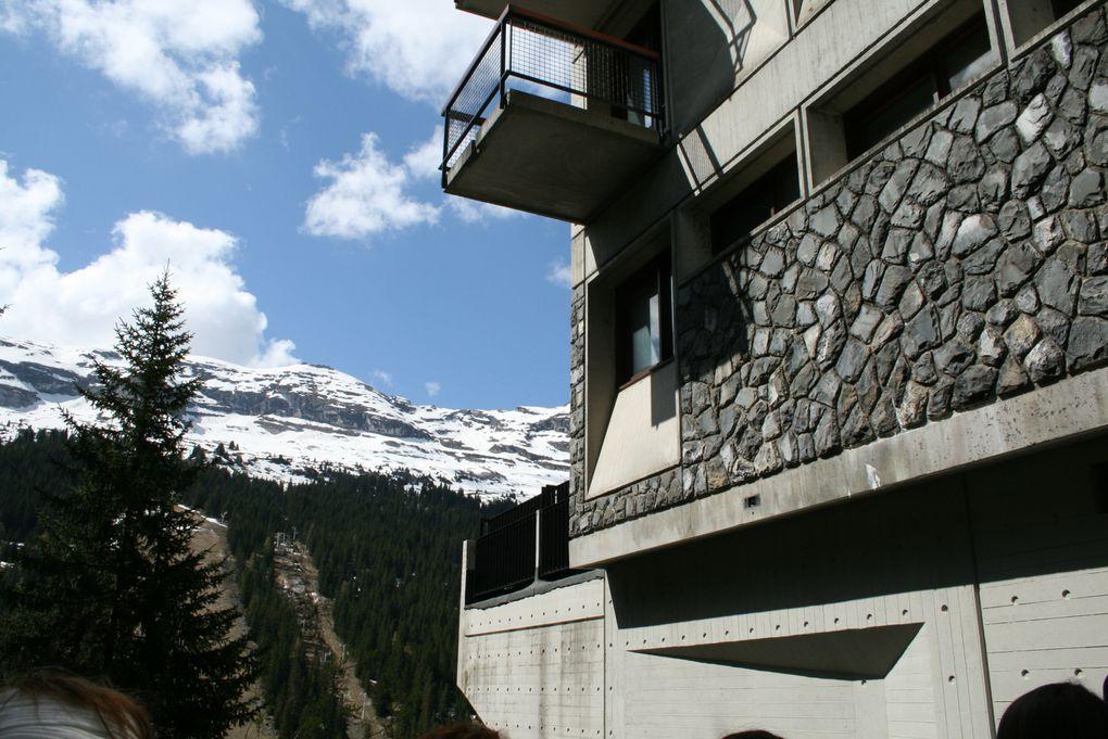 Marcel Breuer béton station ski