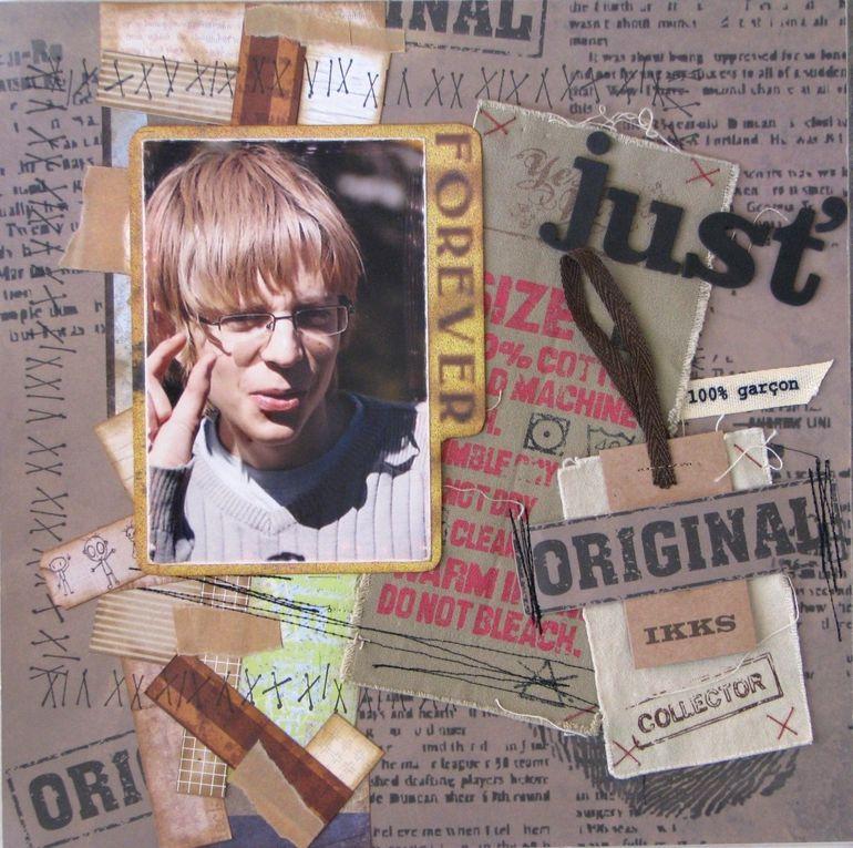 Album - Mes pages de scrap