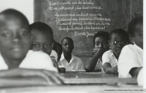 2 mois en Casamance, au Sud au Sénégal. 7 mois au Togo à Lomé