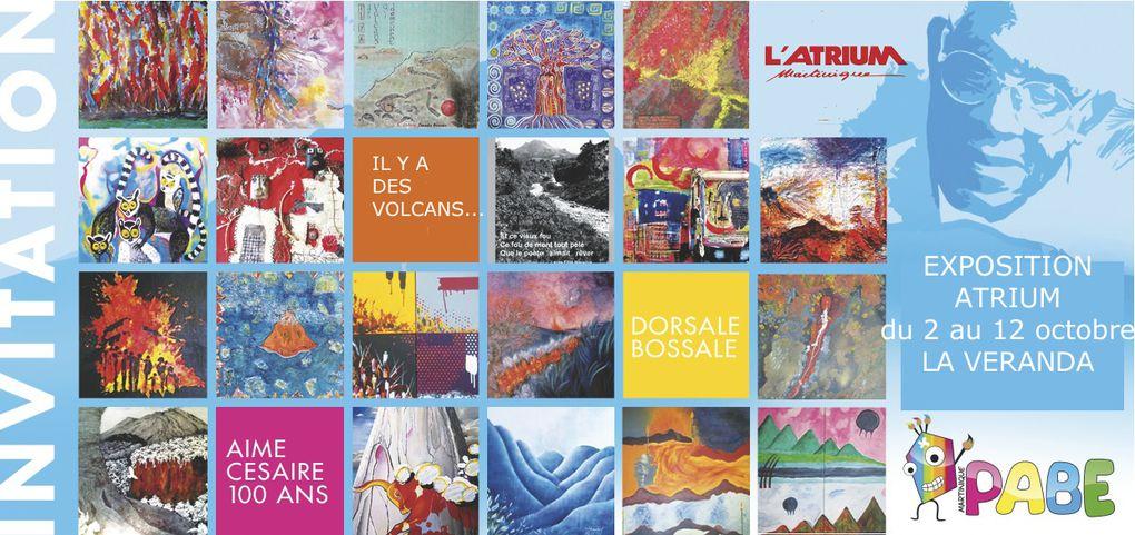 Exposition en hommage à Aimé Césaire à l'ATRIUM FDF de 2 au 12 octobre 2013