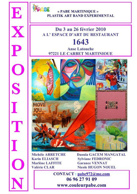 sélection de 15 tableaux mai 2009 à janvier 2010