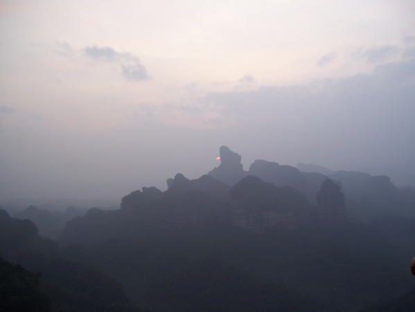 Trois jours de franche baroude à Shaoguan, au Nord du Guangdong, avec Julien et quatre chinois.