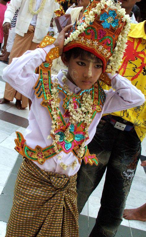 La Birmanie telle que je l'ai vue. Dans l'ordre chronologique: Yangon, Mandalay, Bangan, Kalaw, Inle, Bago, Yangon.