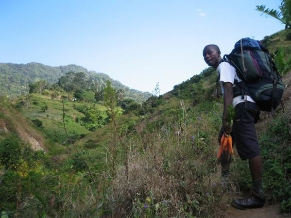 Two day trek in the Uluguru mountains (Tanzania), two hours drive from Dar es Salaam...Great weekend!