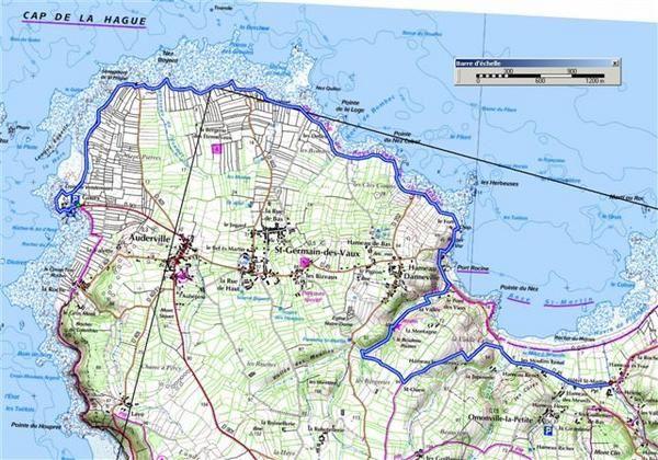 Randonnées en Basse-Normandie.