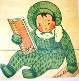 Bambino et  ses  vêtements que je tricote