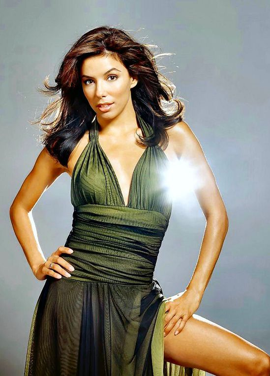Eva Longoria de desparate housewives. Le charme, le glamour...