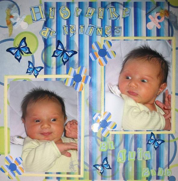 Un album pour le 1er mois de mon Bébé d'amour