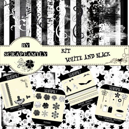 Album - kit-white-and-black