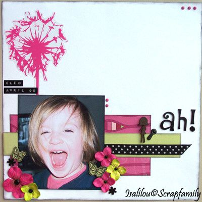 Album - le scrap d'Isalilou