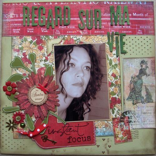 Un album sur mes goûts, mes préférences, ma vie, tout simplement, pour laisser une trace de moi...