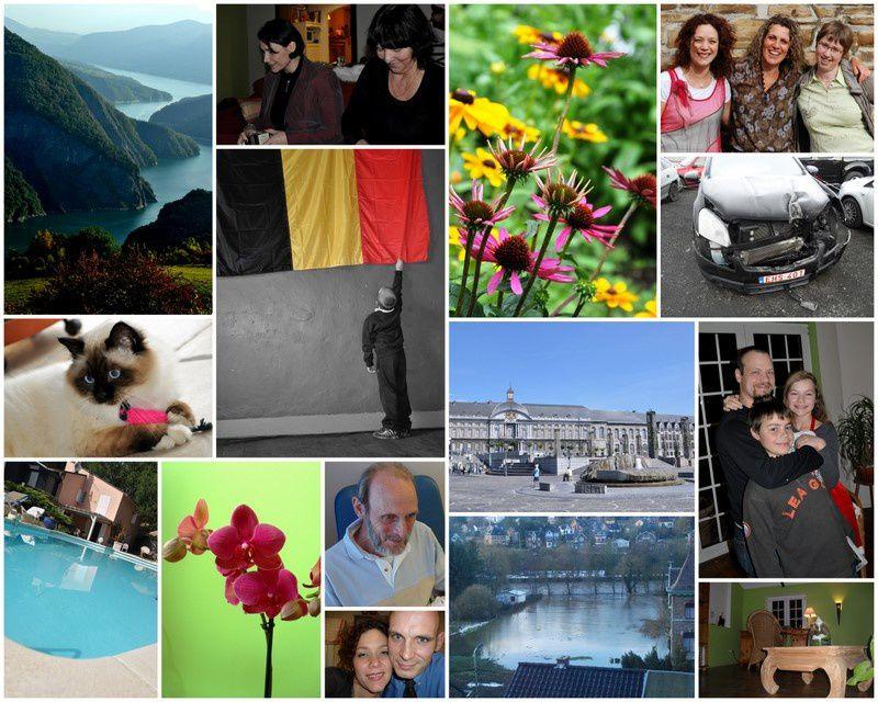 Quelques montages de photos réalisés avec Picasa.