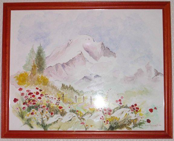 Peintures personnelles (cadrages aléatoires)