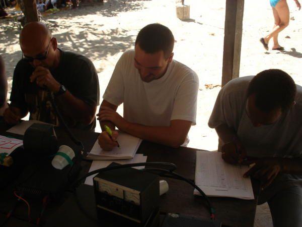 Photo des activité du radio club