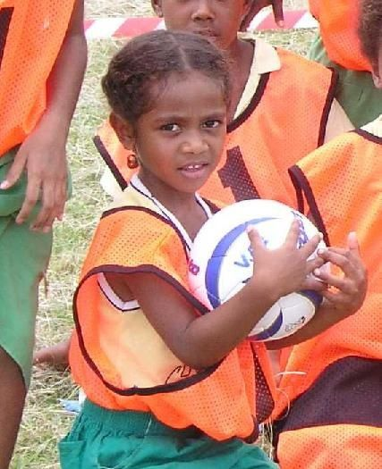 Sport activities and Football in Efate