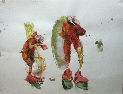Album - Mascarade:peintures