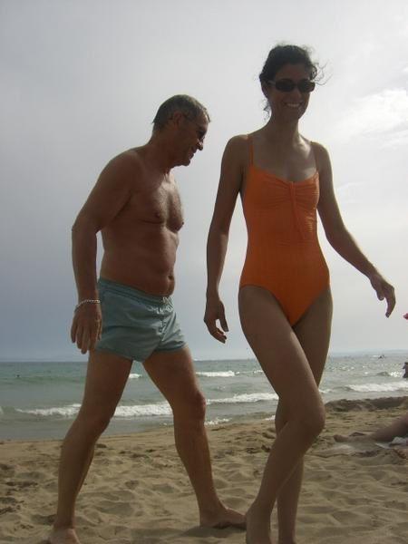 Séjour d'une semaine en Espagne avec papa et Houria