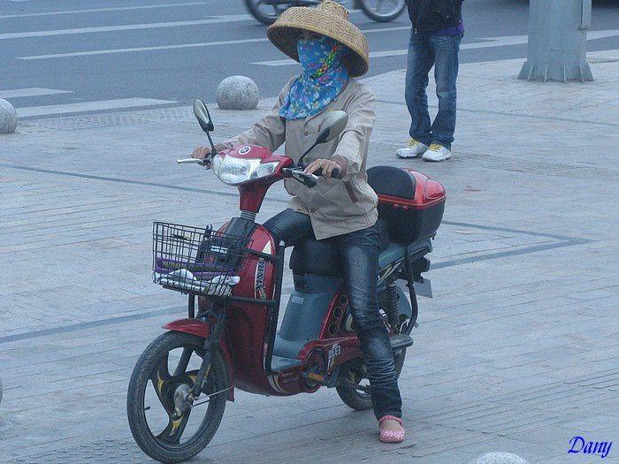 visite de l'ile de Hainan, dans le sud de la Chine, en 2011,