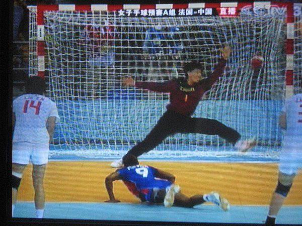 Les jeux olympiques de Pékin 2008 , vus par Dany à la TV.