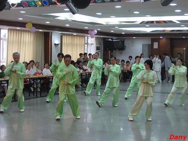 Démonstrations Tai Chi Chuan