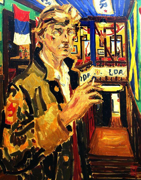 Catálogo de la obras del artista Gonzalo Ilabaca disponible a la venta en la Galeria de Arte de Valparaiso Bahía Utópica, unica galeria de Valparaiso con muestra permanente de obras del artista