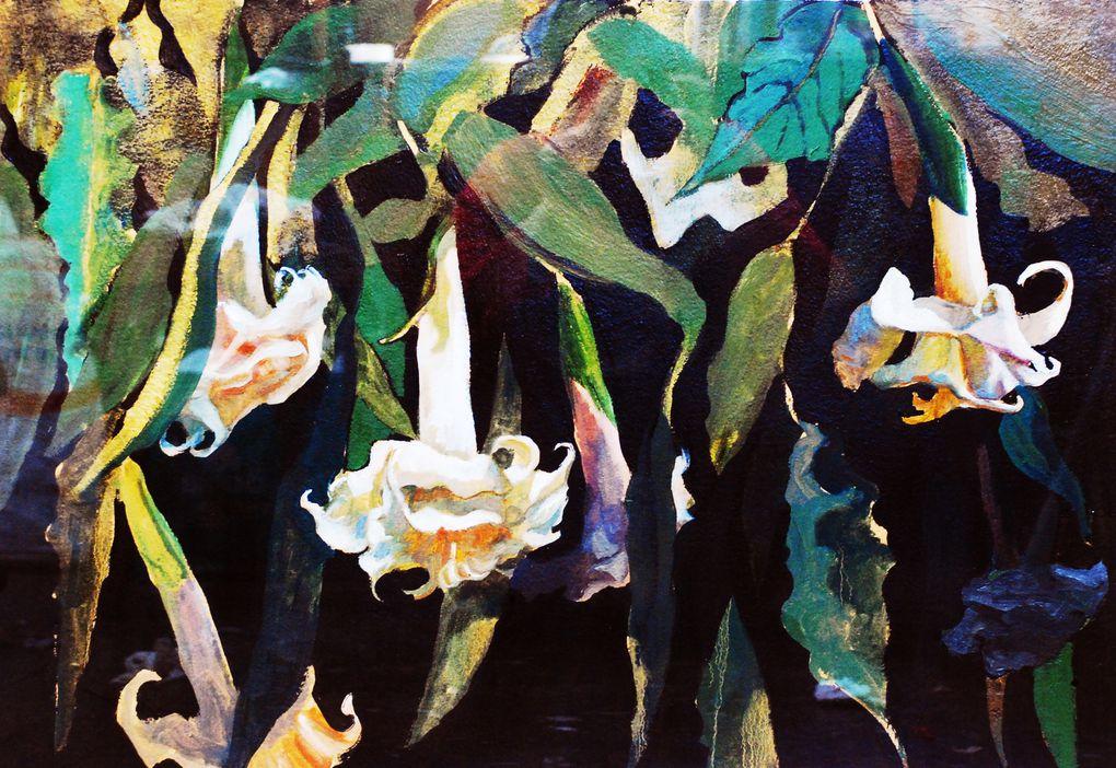 """Este catalogo presenta las pinturas de Pía Subercaseaux de la exposición """"Flor de la piedra flor del agua"""", obras disponibles a la venta, todas enmarcadas por el artista. Valores y medidas, contactar la galeria de arte Bahía Utópica"""